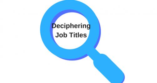job titiles