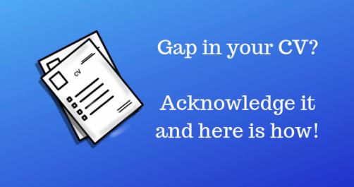 CV gaps